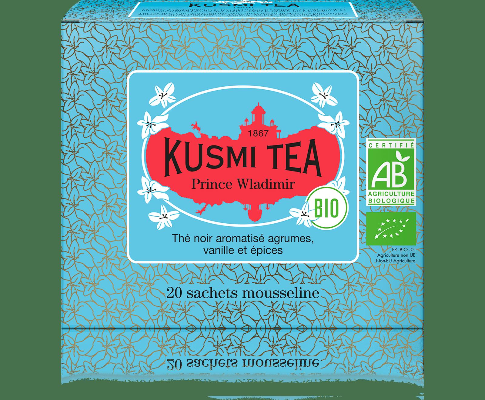 Earl Grey - Prince Vladimir bio - Sachets - Kusmi Tea