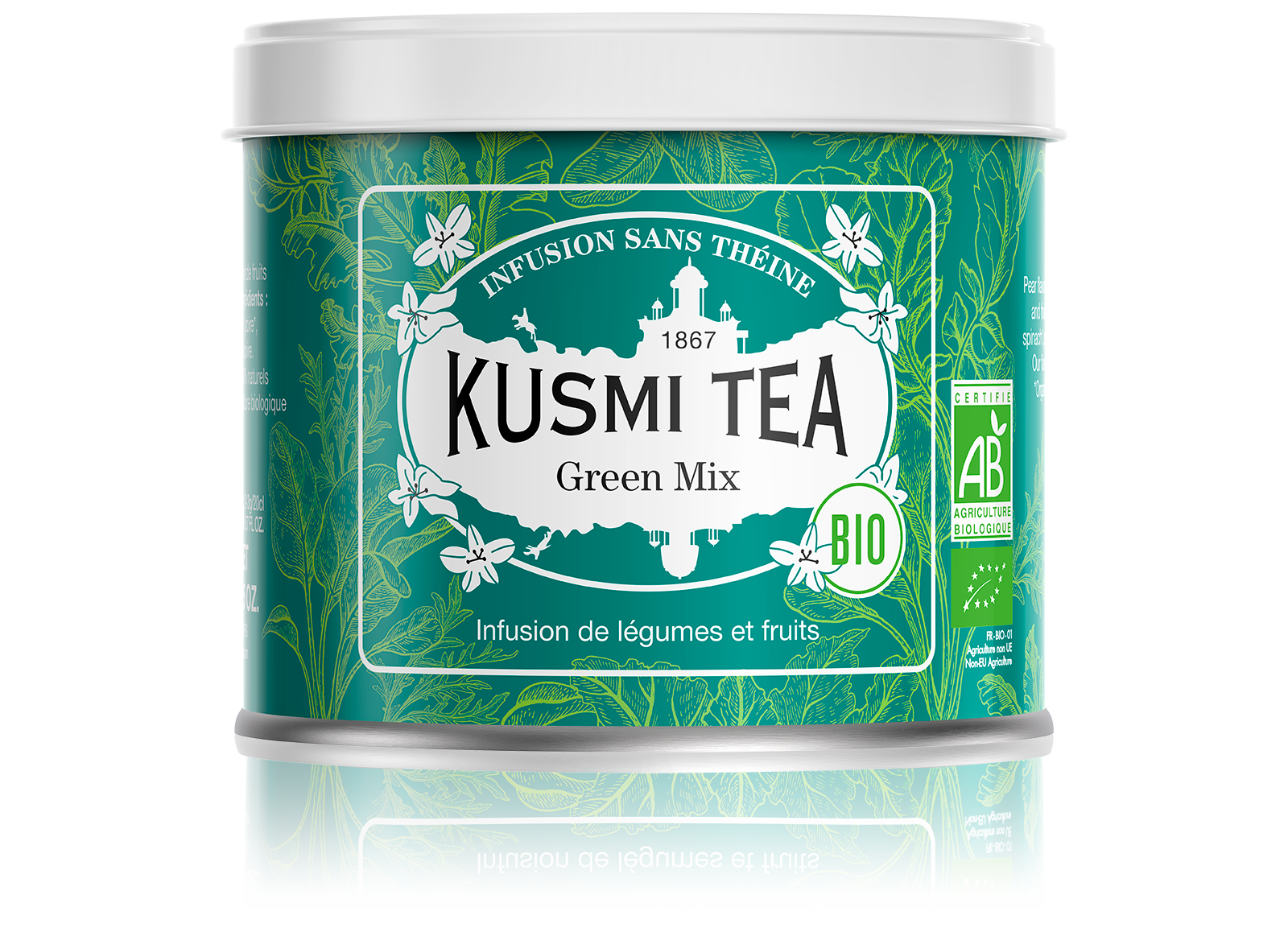 Green Mix (Infusion bio) - Kusmi Tea