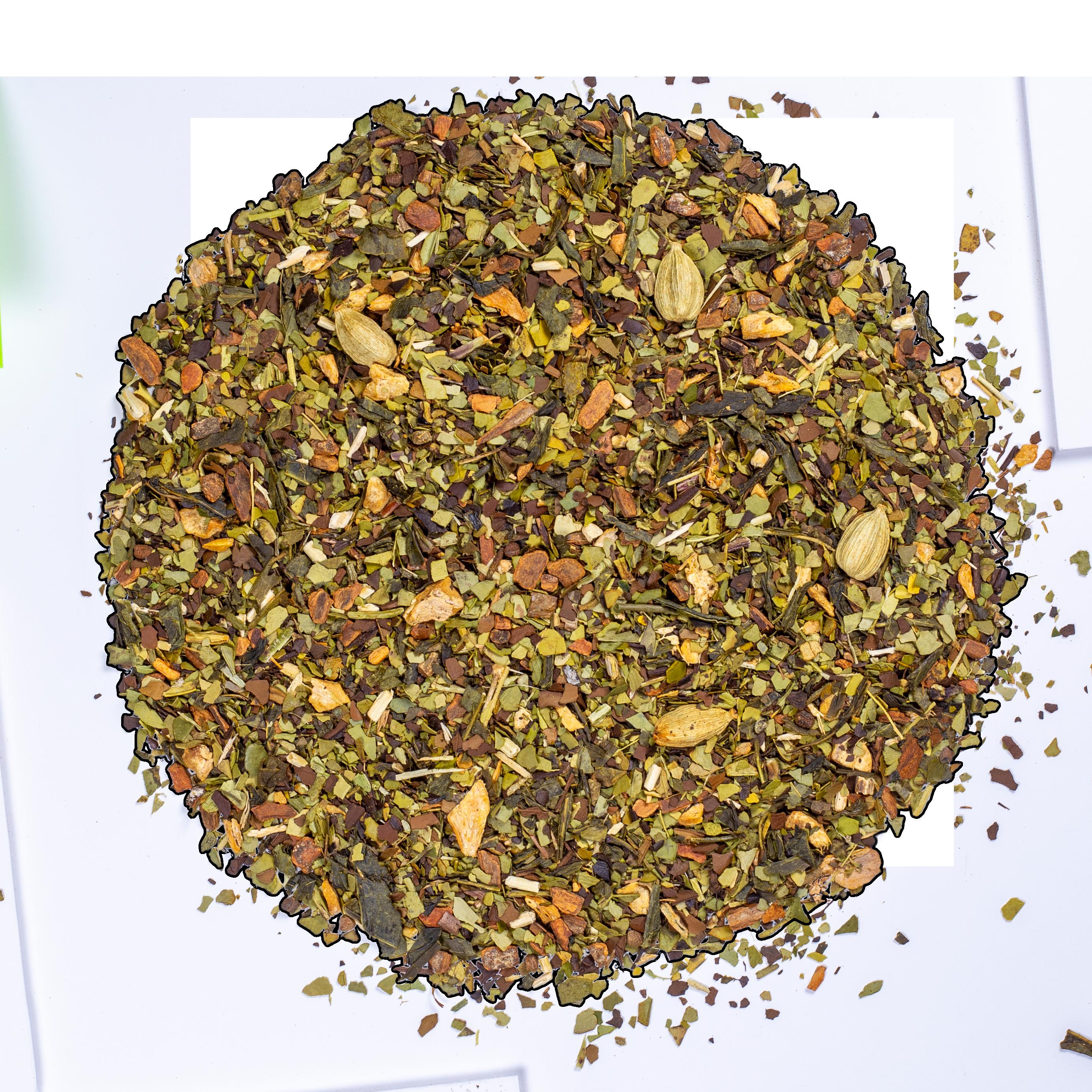Thé vert, maté - Boost - Vrac - Kusmi Tea