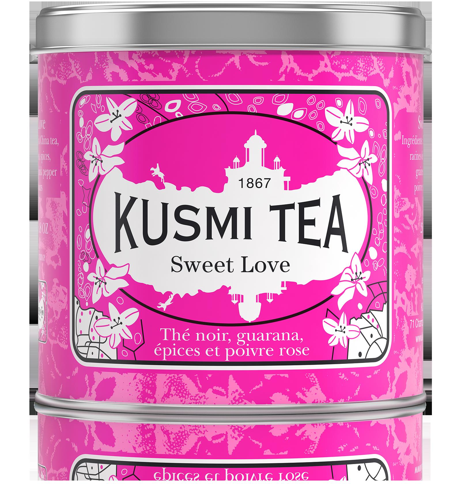 Thé noir - Sweet Love - Vrac - Kusmi Tea