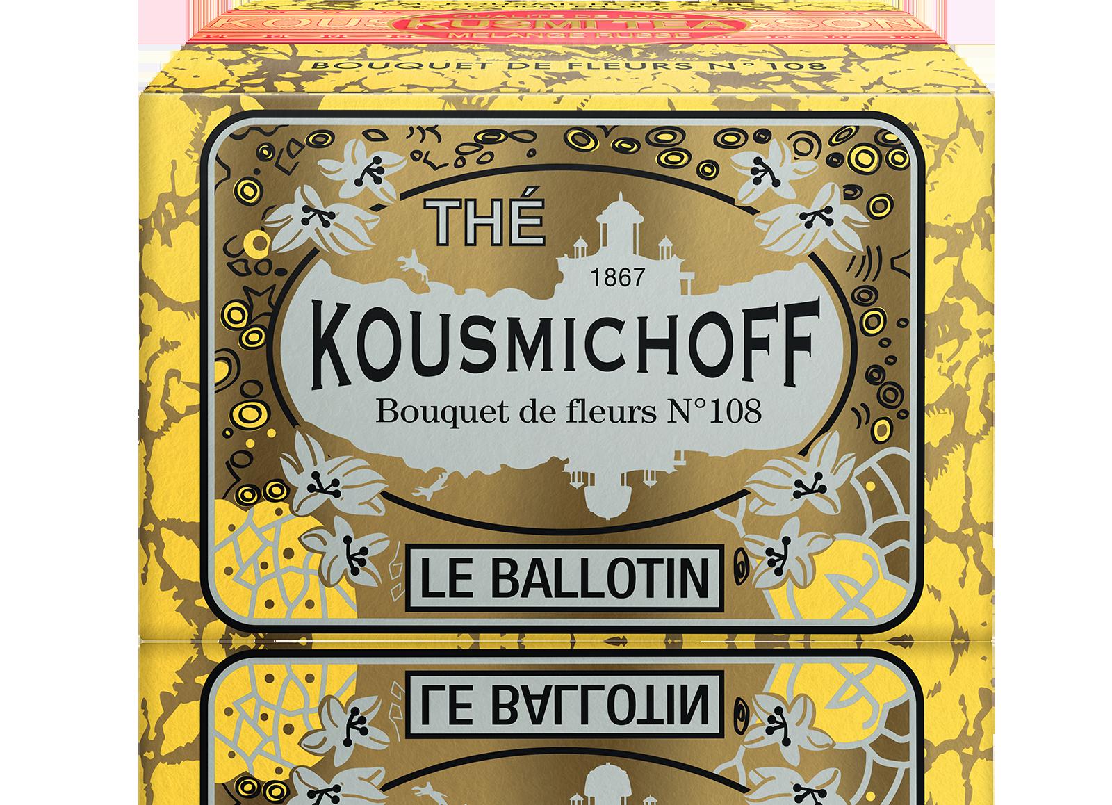 Earl Grey - Bouquet de Fleurs N°108 - Vrac - Kusmi Tea