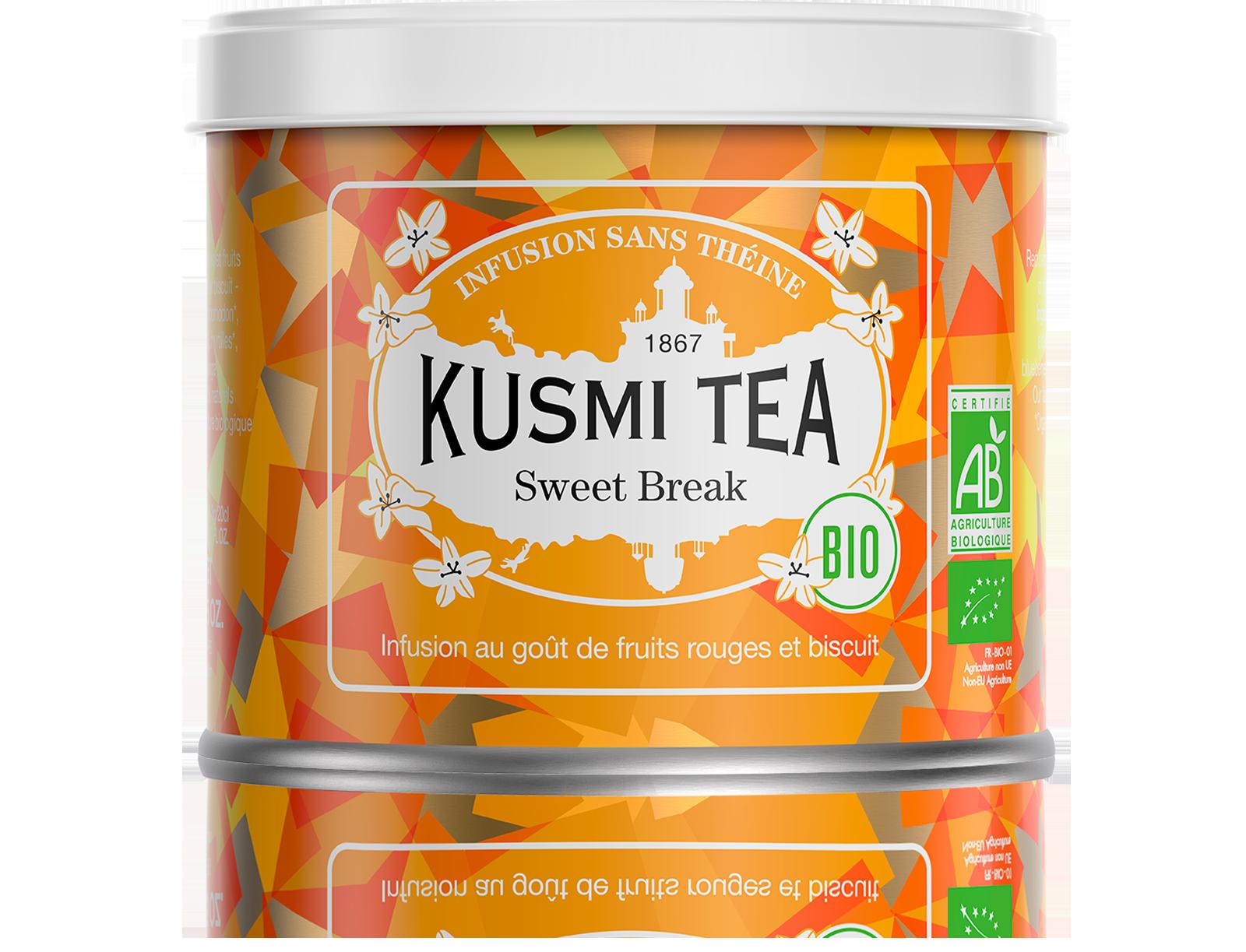 Infusion d'hibiscus bio - Sweet Break (Infusion bio) - Vrac - Kusmi Tea