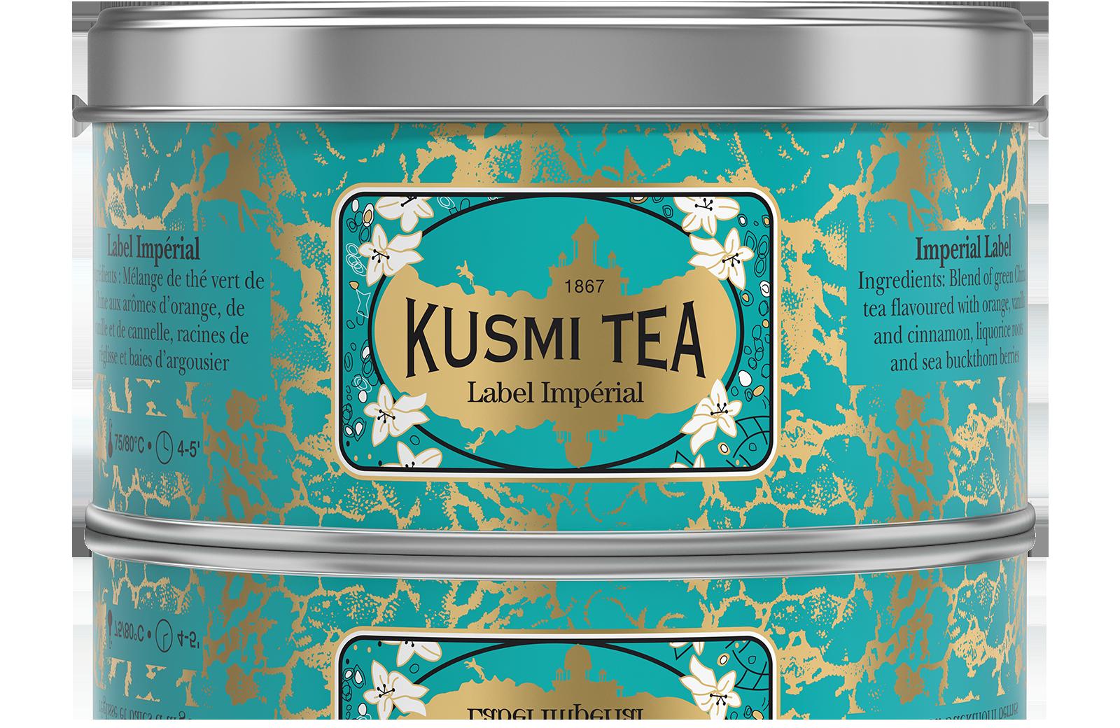 Thé vert - Label Impérial - Vrac - Kusmi Tea