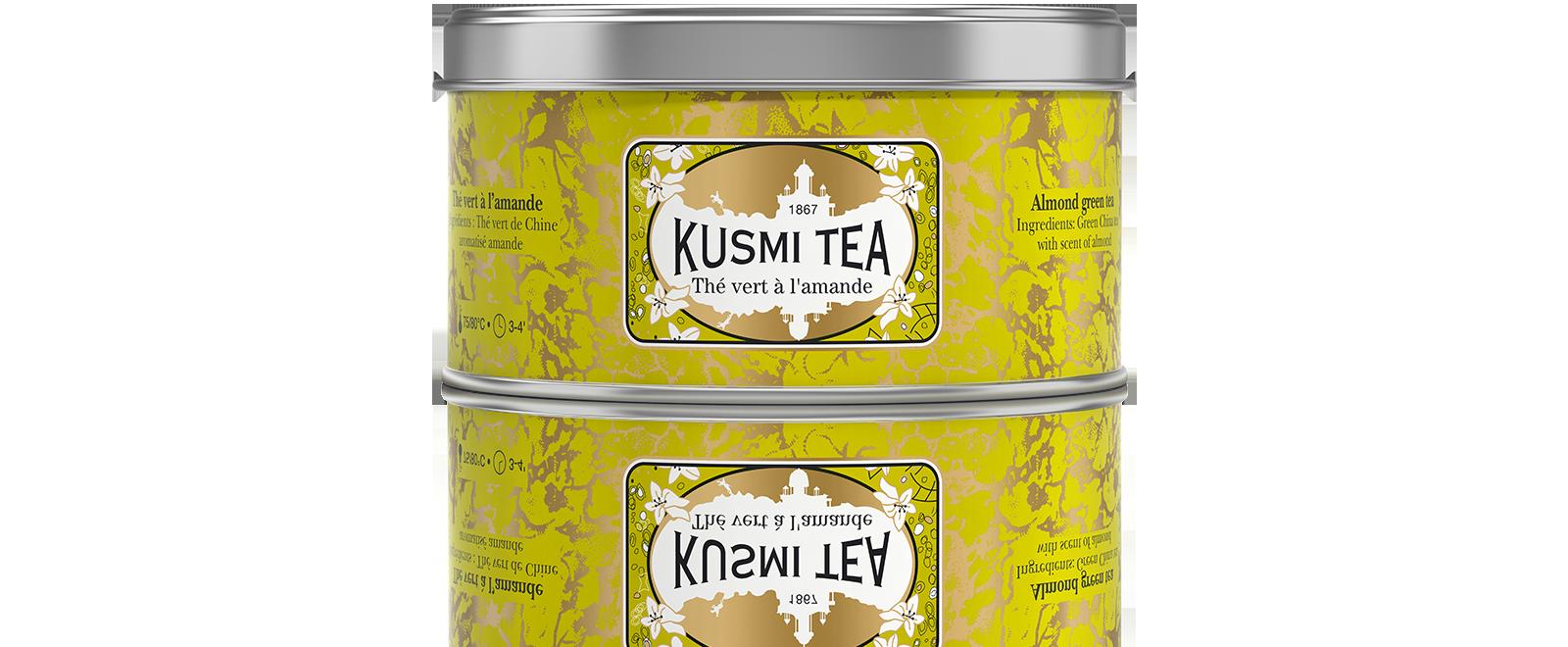 Thé vert - Vert Amande - Kusmi Tea