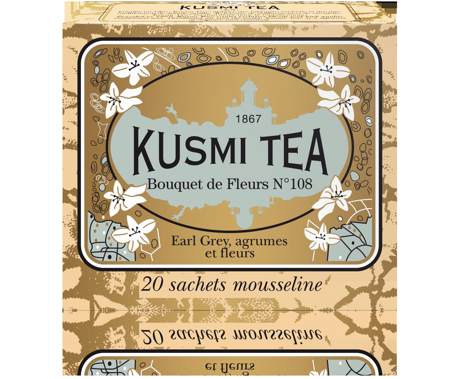 Earl Grey - Bouquet de Fleurs N°108 - Sachets - Kusmi Tea