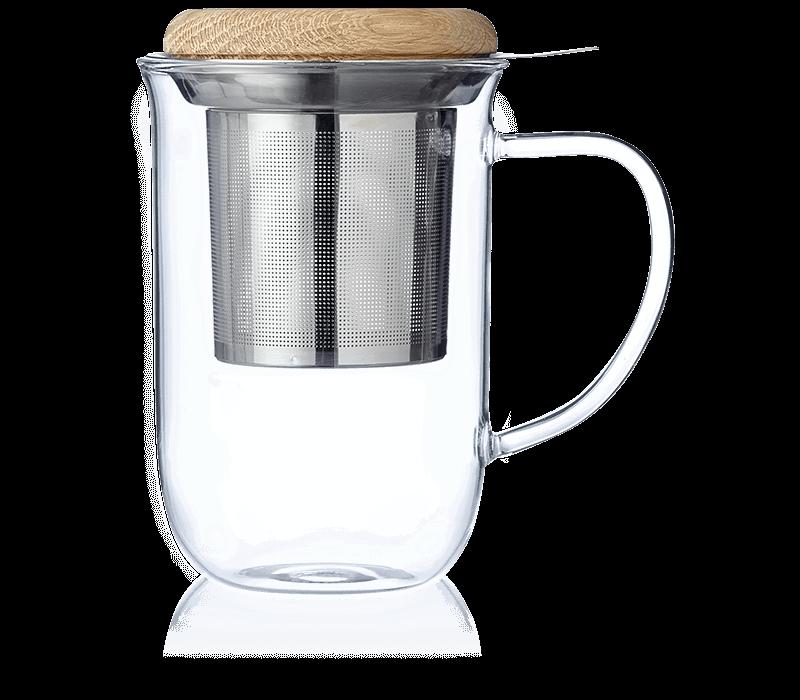 Tisanière en verre Minima - Accessoire pour le thé - Kusmi Tea