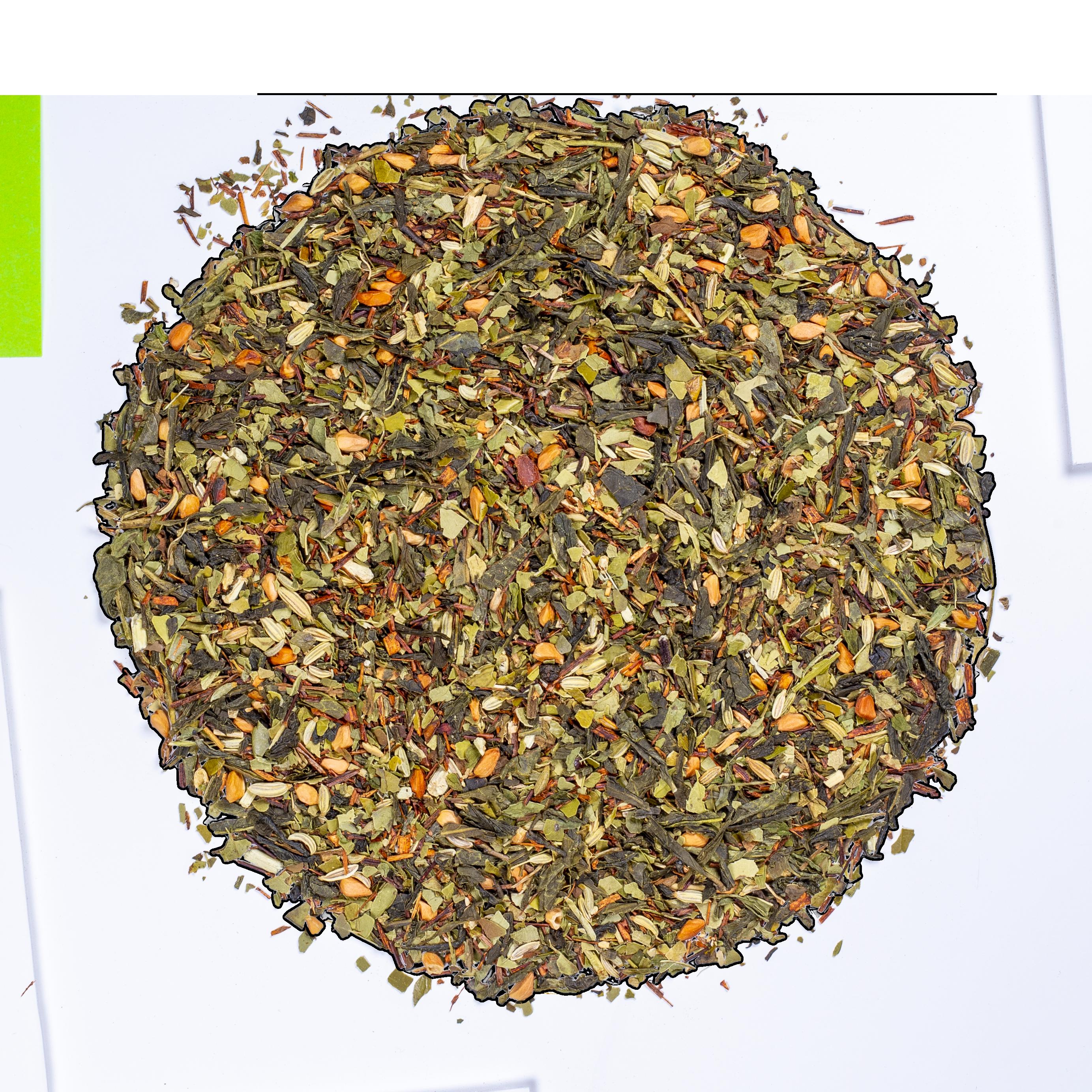 Thé vert Maté - BB Detox - Kusmi Tea - Thé vert, maté, pamplemousse