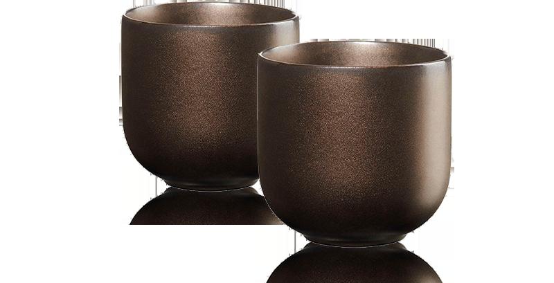 Tasse en porcelaine 20Cl Coppa - Accessoire pour le thé - Kusmi Tea