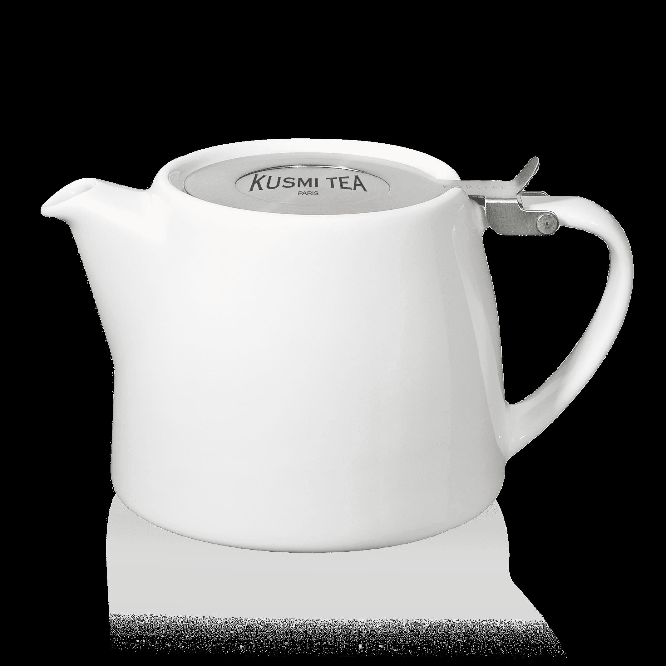 Théière Stump Kusmi 0,40L - THÉIÈRE EN PORCELAINE STUMP KUSMI 0,40L (SANS FILTRE) - Kusmi Tea