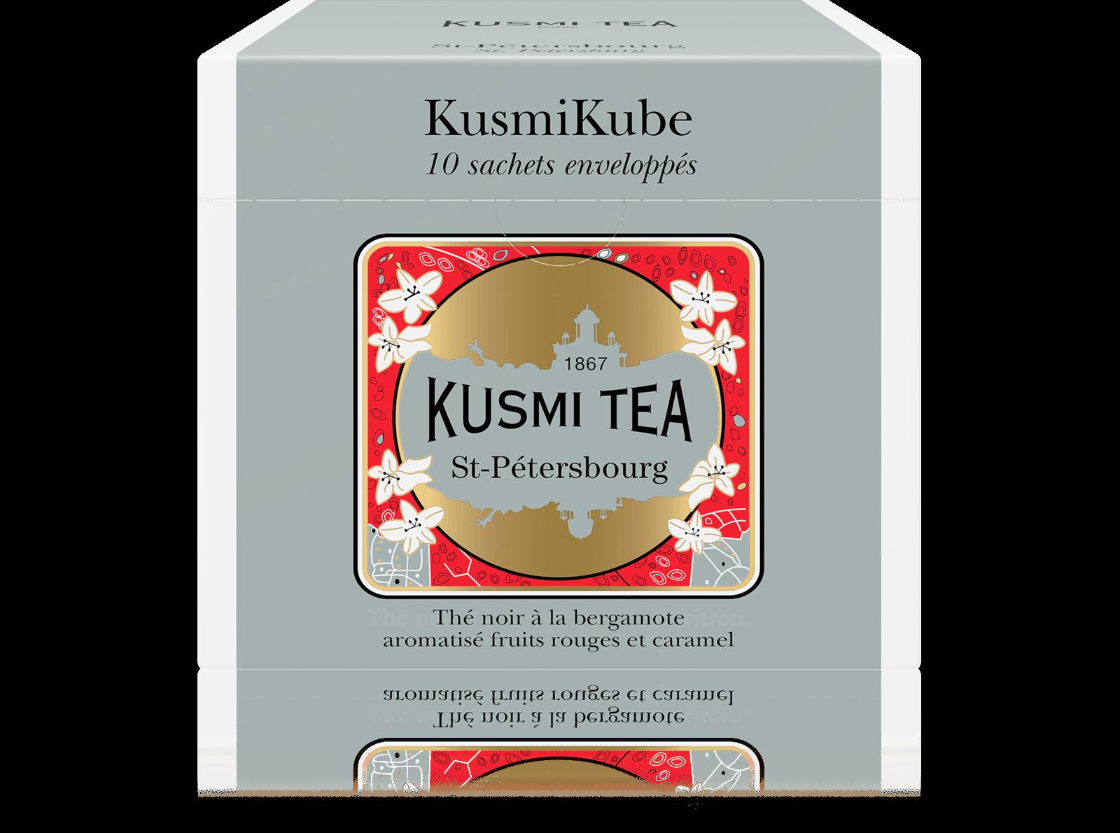 St-Pétersbourg - Thé noir à la bergamote aromatisé fruits rouges et caramel - Sachets de thé - Kusmi Tea