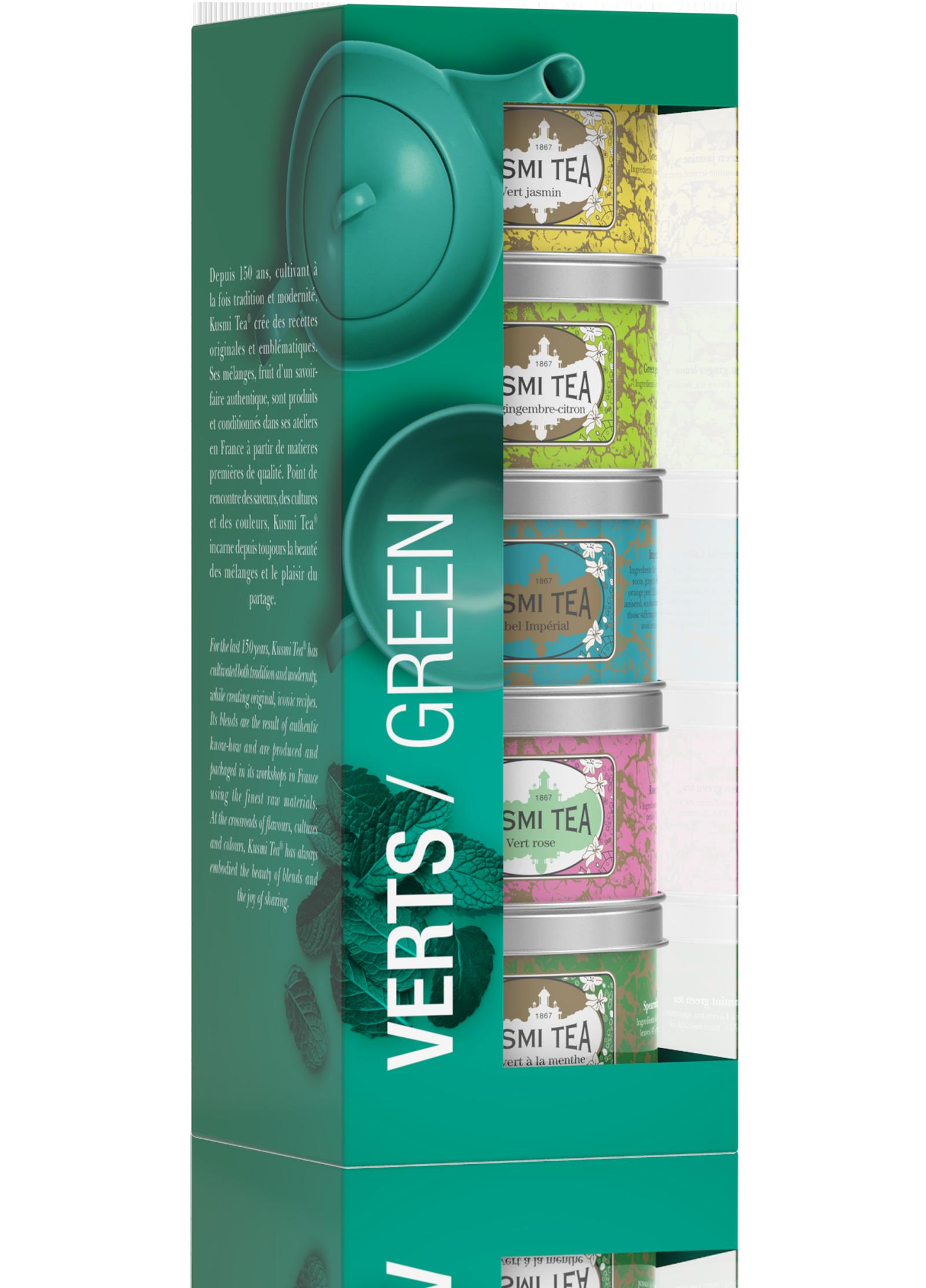 Coffret Les Verts