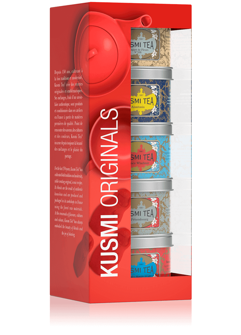Coffret Kusmi Originals - Earl grey, thé en vrac - Kusmi Tea