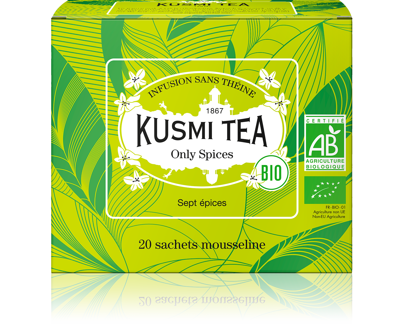 Infusion - Only Spices (Infusion bio) - Sachets - Kusmi Tea