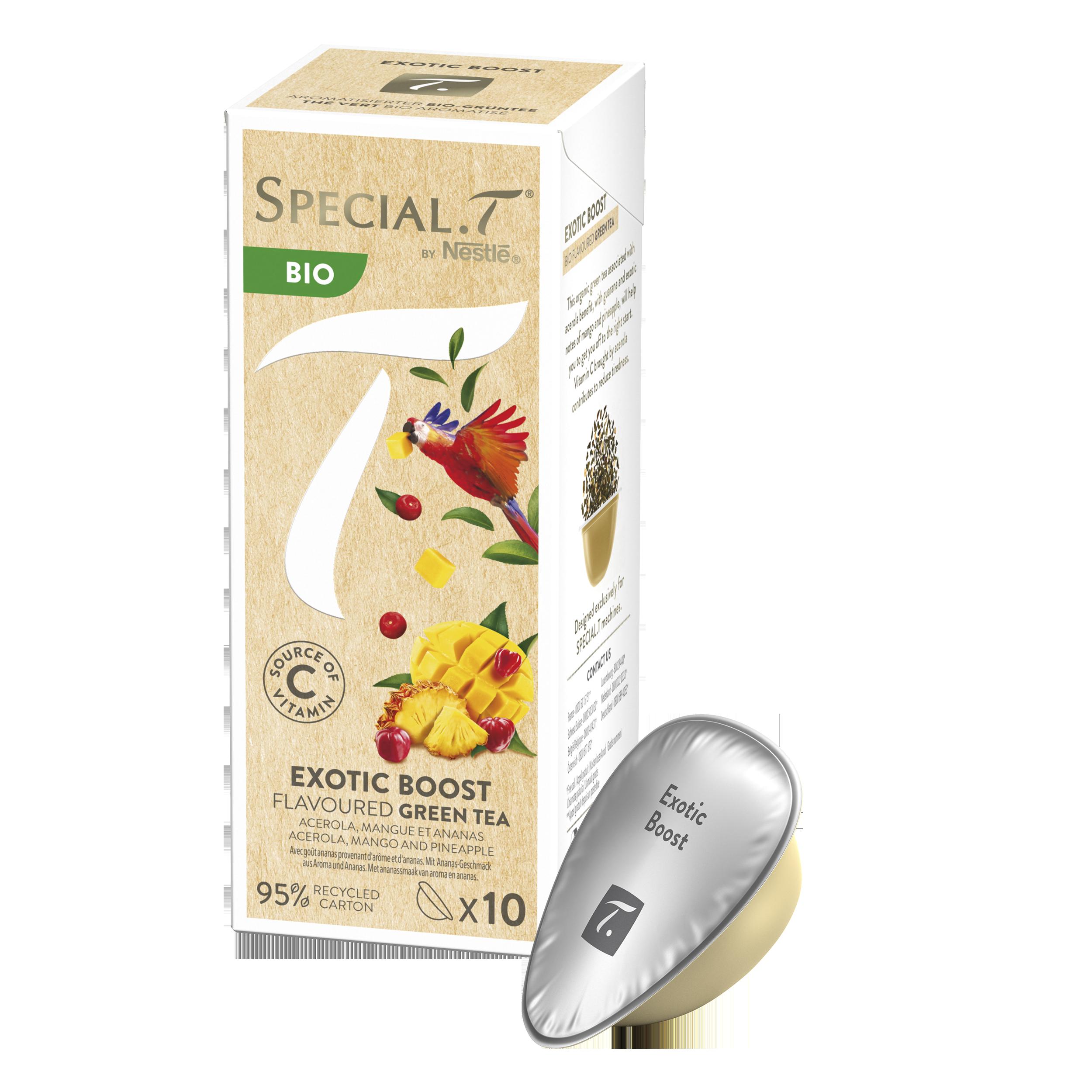 Thé vert - Capsule Exotic Boost bio - Special.T - Vrac - Kusmi Tea