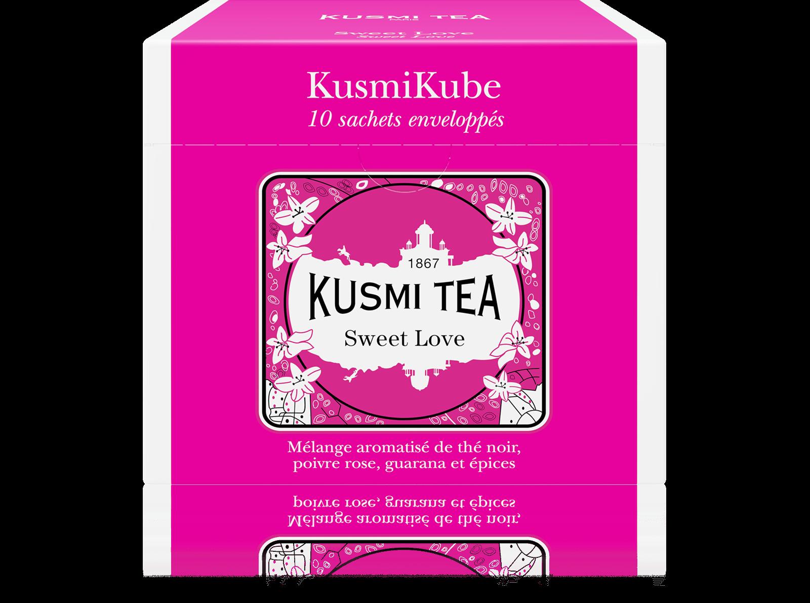 Sweet Love - Thé noir, épices - Sachets de thé - Kusmi Tea